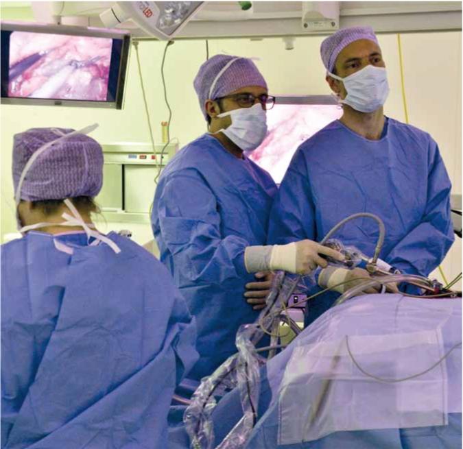 Bijnieroperatie Langehuijsen